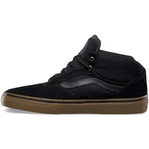Vans Gilbert Crockett Pro Denim Black Gum Premium Icc 1 vans gilbert crockett pro mid shoes