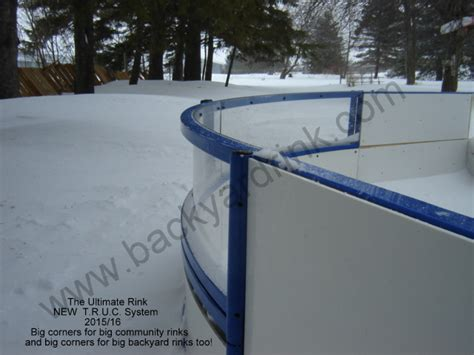 Backyard Ice Rink Ice Thickness Image Mag