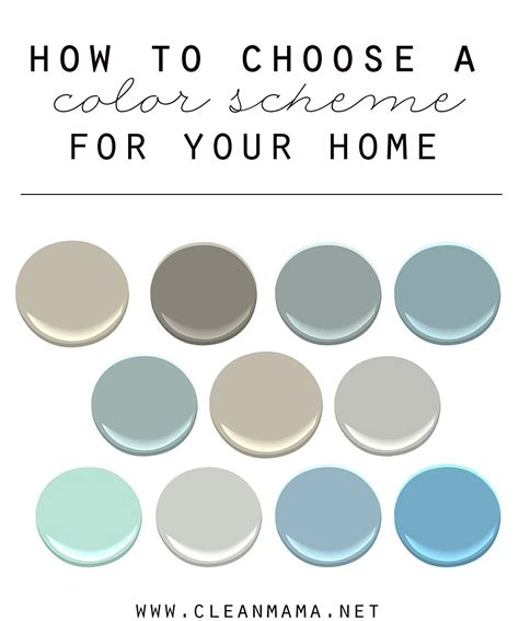 how to choose a color scheme for your home beautiful revere pewter and pottery