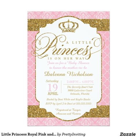 pink baby shower invitation templates pink and gold baby shower invitations templates designs