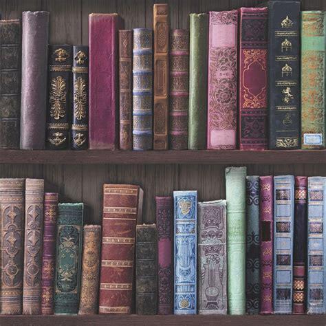 graham brown fresco book shelf wallpaper 101689
