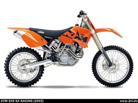 525 Sx Ktm Ktm 525 Sx Racing 2003 2ri De