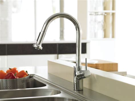 hansgrohe 04247000 chrome talis s pull down kitchen faucet faucet com 14877001 in chrome by hansgrohe