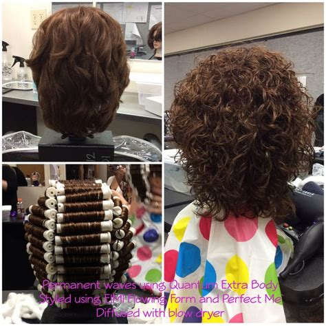 spiral wrap hairstyle spiral perm wrap w boom rods nov 30 7 best images about chemical texture services on pinterest