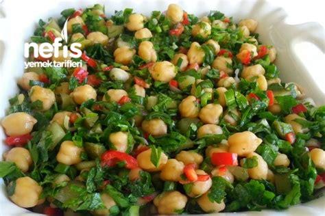 nohut salatas yapm nefis yemek tarifleri nohut salatası tarifi canan talay nefis yemek tarifleri