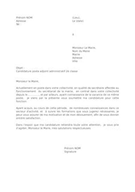 Exemple De Lettre De Motivation Pour Emploi Administratif Faire Sa Lettre De Motivation