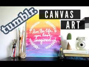 diy-tumblr-inspired-canvas-art-ombre-quote-room-decor