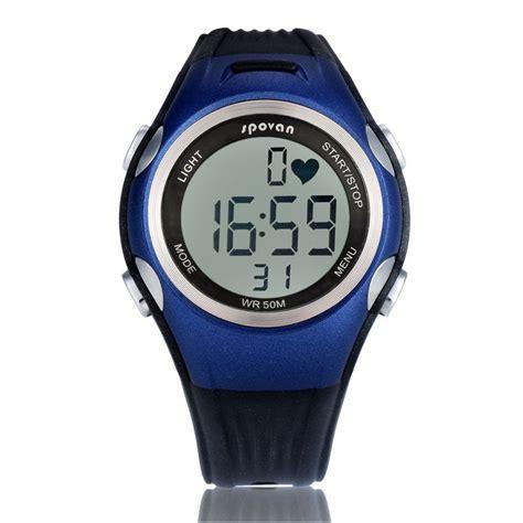 Spovan Spv900 Waterproof Fitness Pedometer Heartrate Monitor spovan spv906 waterproof fitness calories heartrate monitor blue jakartanotebook