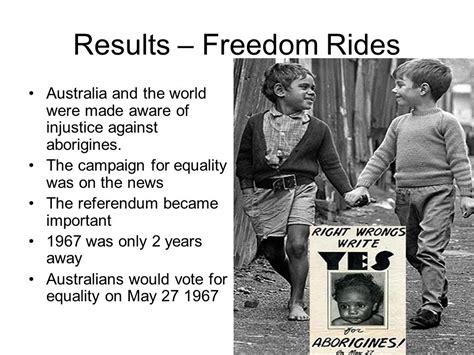 Freedom Rides Australia Worksheet