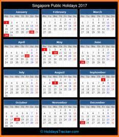Calendar 2018 Singapore School Singapore Holidays 2017 Holidays Tracker