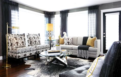 black white yellow living room ideas the atmosphere how to finish a room atmosphere lifestyle