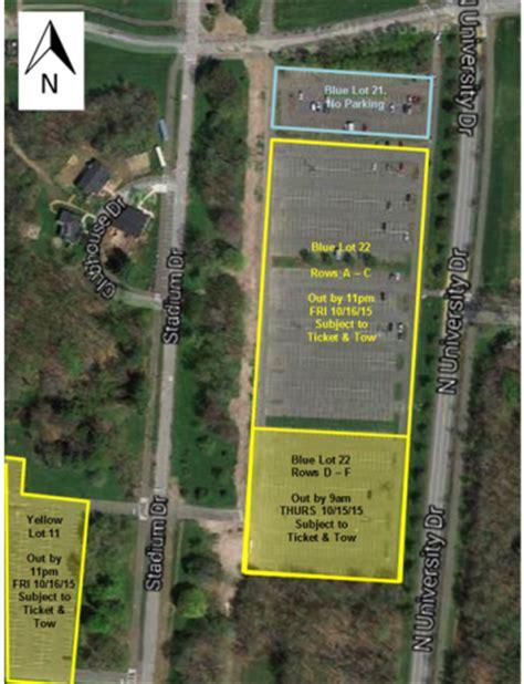 Umass Amherst Parking Garage by Lot 22 Football Parking Transportation Services Umass