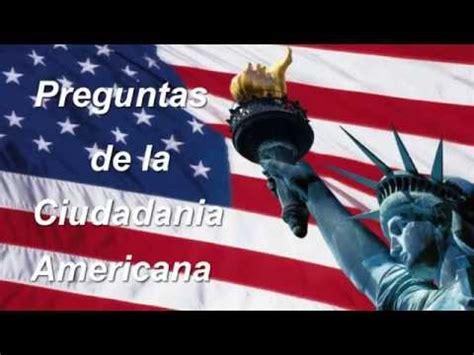 preguntas de inmigracion en espanol gratis examen de ciudadania us citizenship test