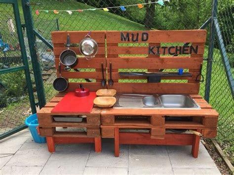 recycled wooden pallet mud kitchen pallets designs