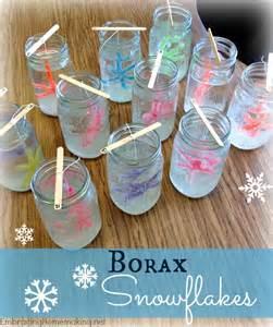 Christmas Decorations You Can Make At Home by Borax Snowflakes Inspiring Monday Embracing Homemaking