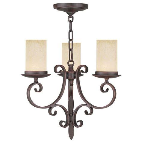 Bronze Mini Chandelier Filament Design Providence 3 Light Imperial Bronze Incandescent Ceiling Mini Chandelier Cli