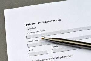 kostenlos muster kreditvertrag darlehensvertrag privat muster als pdf zum
