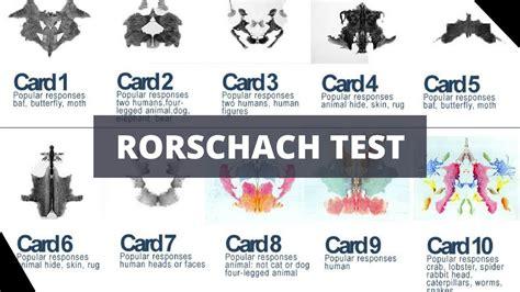 roshak test rorschach inkblot test interpretation