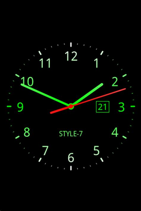 analog clock  wallpaper   apk androidappsapkco