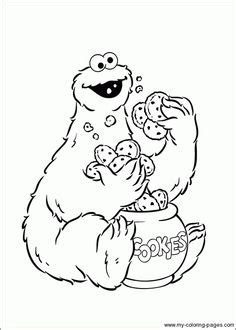 cookie monster coloring page pdf cookie monster coloring pages coloring pages pinterest