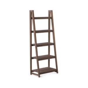ladder style bookcases bookcases wood metal and glass crate and barrel