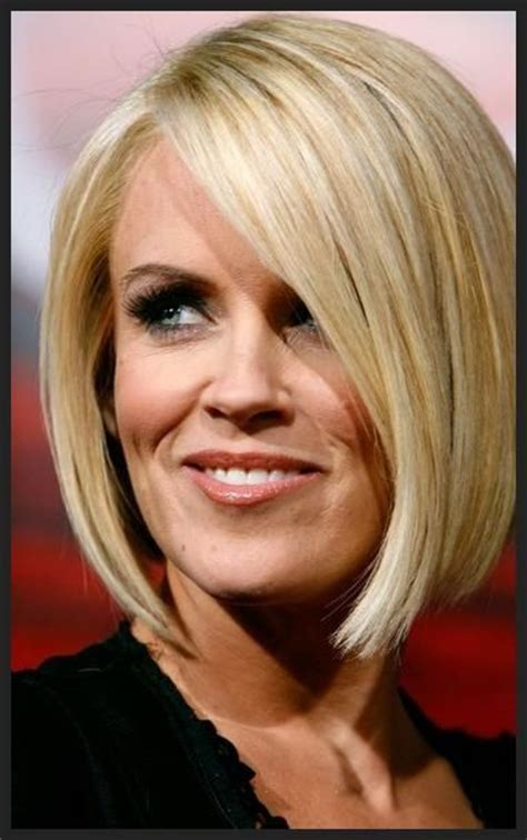 jenny mcarthys new bob haircut for reality show medium length bob haircut hair obsessed pinterest