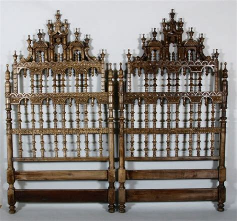 headboard in spanish 2 spanish colonial headboard lot 3159