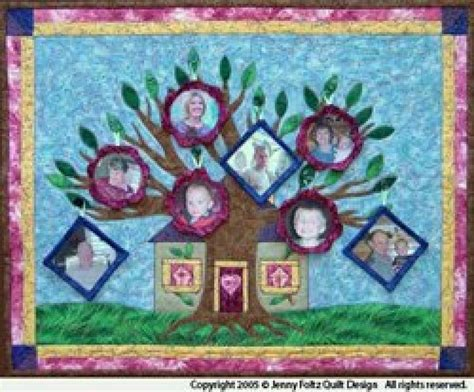 Family Tree Quilt Pattern by Family Tree Quilt