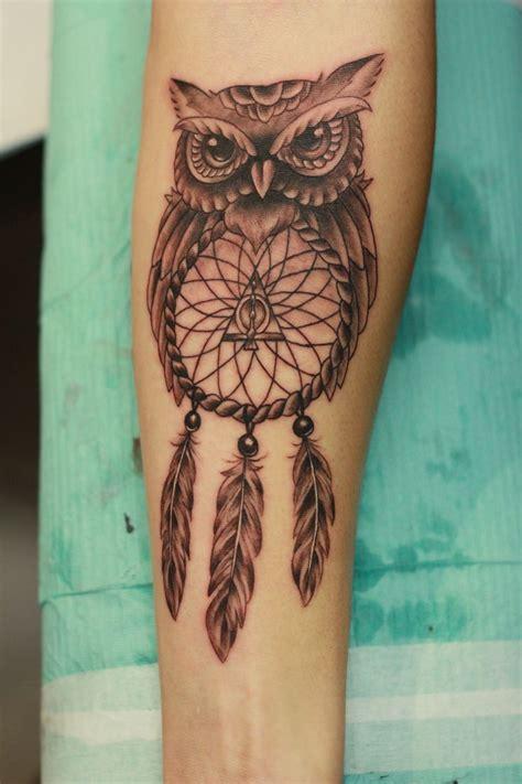 Charm Logam Model Burung Hantu owl holding dreamcatcher www imgkid the