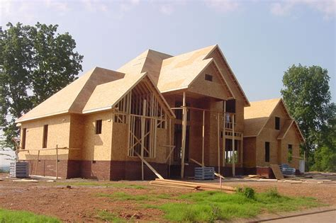 building home building a new house thraam