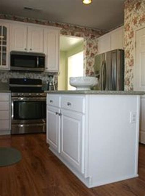 white laminate kitchen from homecraft cabinets refacing