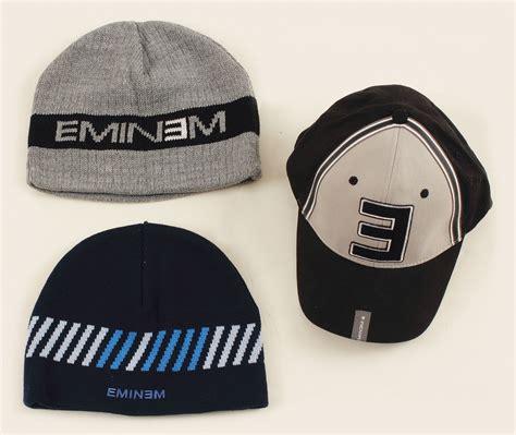 eminem hat lot detail eminem stage worn hats