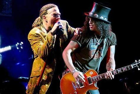 Kaos Guns N Roses Gnr8 axl larang kaos bergambar slash hadir di konser gnr