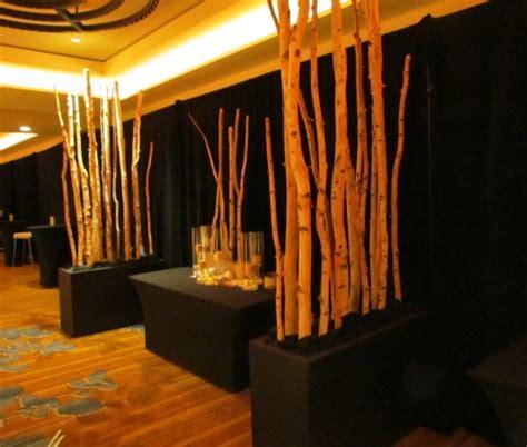 birch event design instagram birch woodland decor greenscape