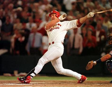 mark mcgwire swing a juicing big mac mark mcgwire s steroid use leaves more