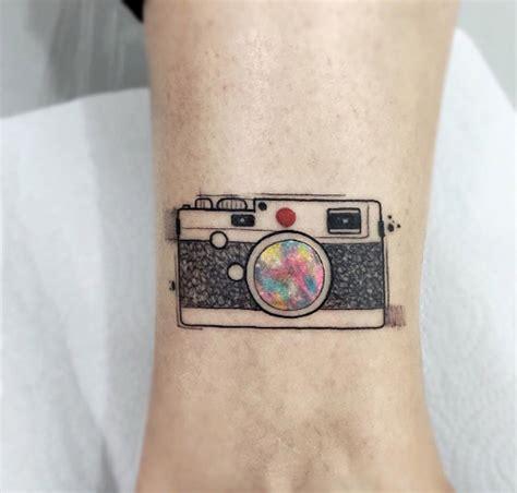 camera tattoo 60 utterly beautiful watercolor tattoos we love