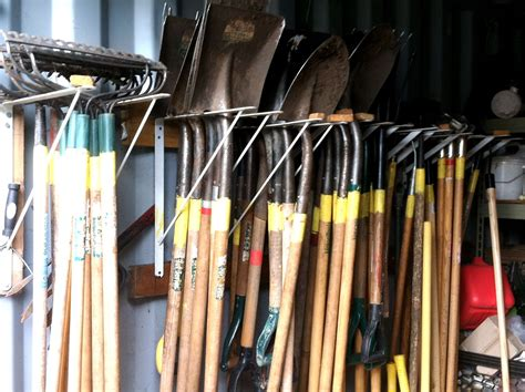 Organizing Tool Shed by East New York Farms Visit House On The Prairie