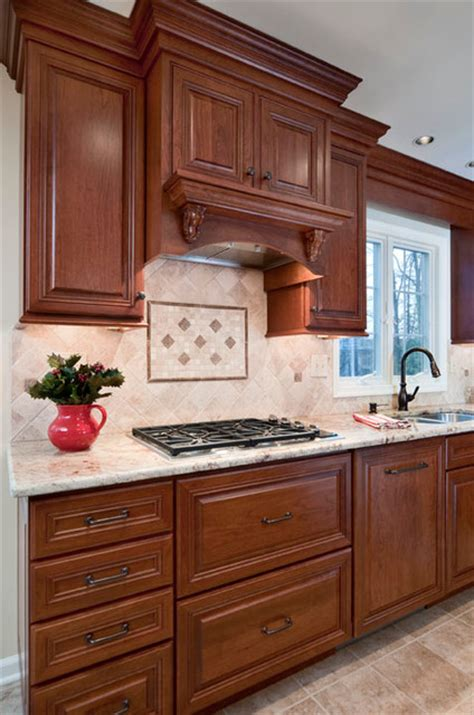 kitchen cabinet range hood design cabinet style range hood w decorative backsplash