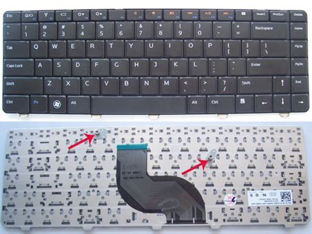 Keyboard Dell Inspiron 14v 14r 4010 4020 4030 replace remove dell inspiron 14r n4010 n4020 n4030 keyboard