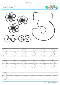 Cuadernillo de Números Gratis para Niños | Descargar PDF