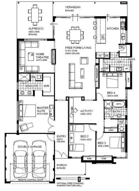 country house plans with open floor plan open floor plan home designs wa country builders