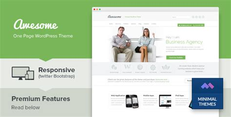 The Agency V1 4 Creative One Page Agency Theme awesome one page business portfolio theme v1 4 businessweb agency