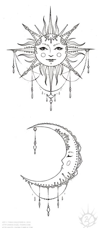 32 moon tattoo designs