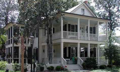 double porch house plans southern house plan with double porches southern house