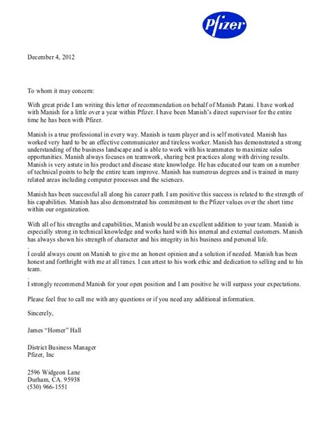 Albany College Of Pharmacy Letter Of Recommendation reference letters