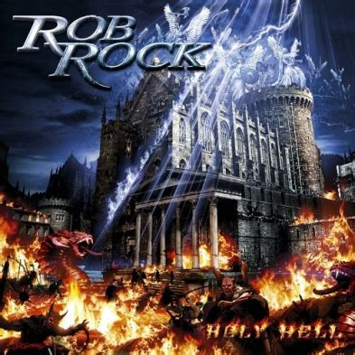 Rob Rock Garden Of Chaos White Metal Italian Christian Metal Website