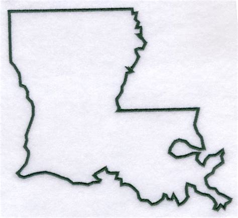 Louisiana Home Decor by Machine Embroidery Designs At Embroidery Library