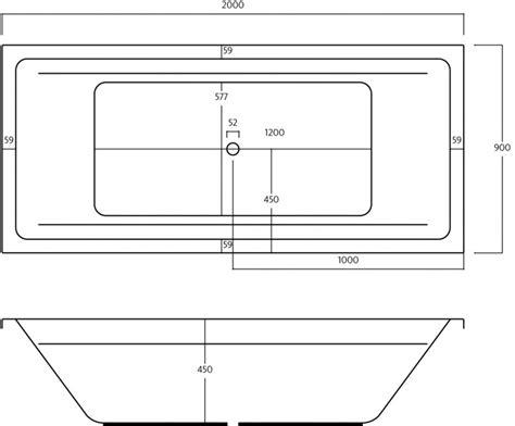 Badewanne Mit Whirlpool 45 by T R Design Whirlpool Basic Galatea Badewanne 200 X