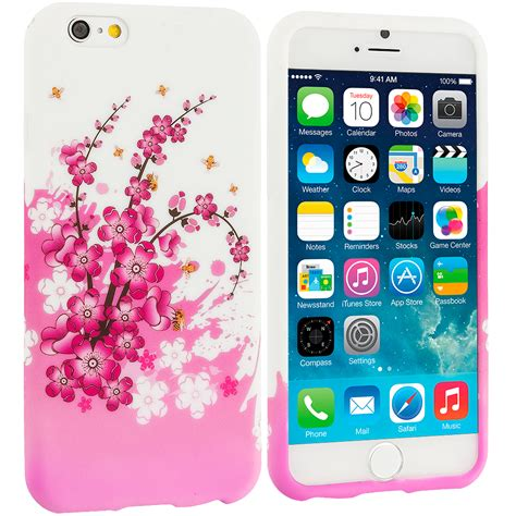 Mini 4 Flower Softcase Cover Tpu Soft Limited flowers tpu design soft cover for apple iphone