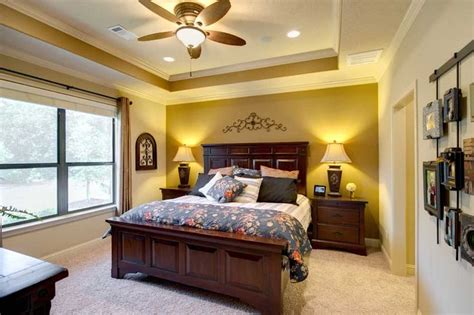 Master Bedroom Ceiling Lights The Master Bedroom Features A Tray Ceiling With Crown Molding Detail And Recessed Lighting A